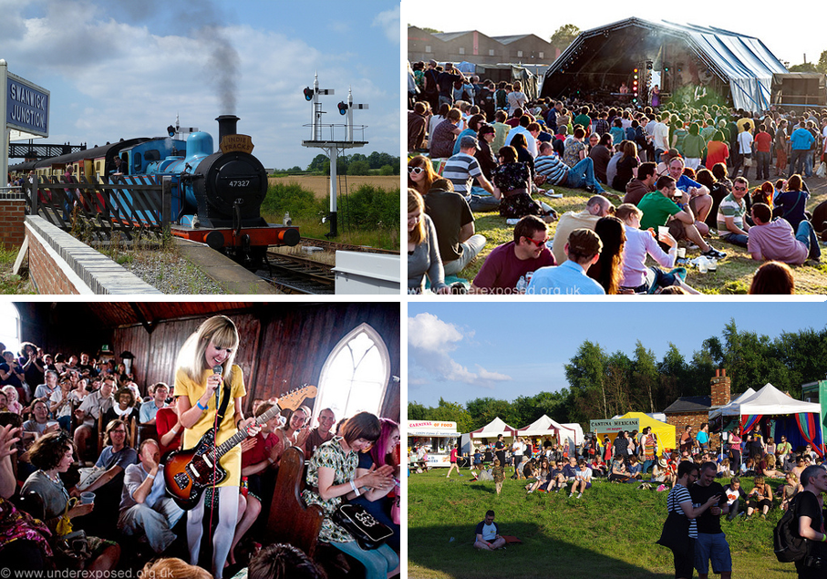 Indietracks postcard